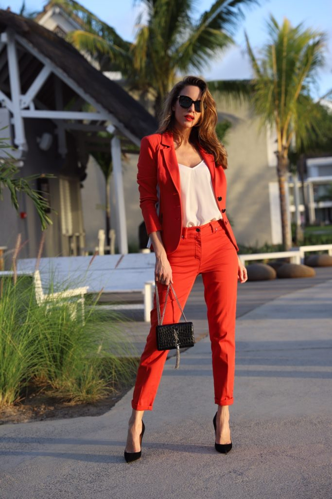 Bloggerin Alexandra Lapp in Airfield Mode
