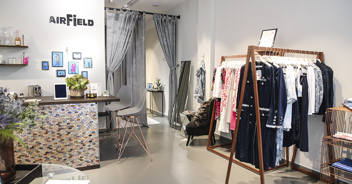Neuer AIRFIELD Store in München