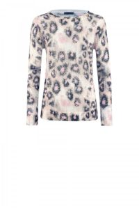 Animalprint-Pullover in zartem Rosa um € 299,–