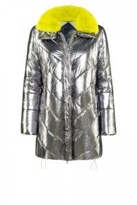 Ivy-Coat in spacigem Silber um € 569,–