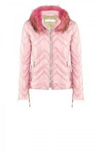 Rosafarbene Felicia-Jacket um € 799,–