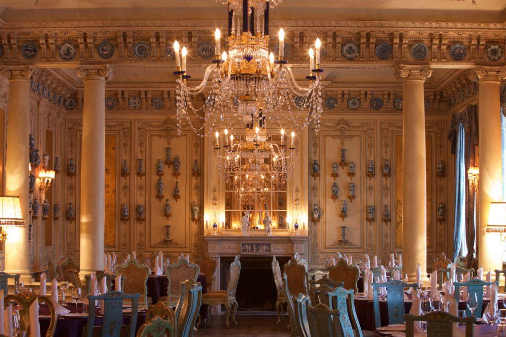 Das prachtvolle Restaurant Turandot in Moskau.