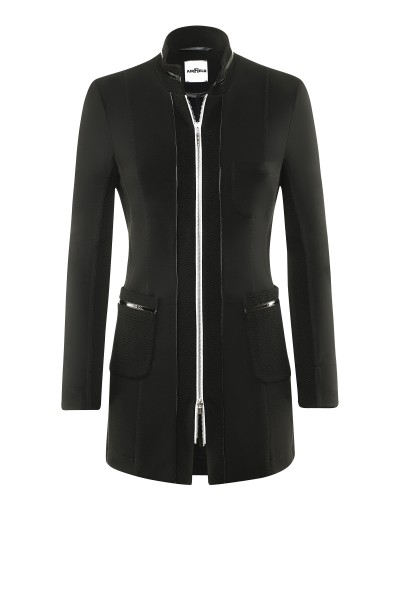 Longjacket mit Zipper um € 449,–