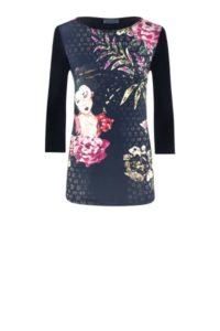 Modal-Shirt mit Asia-Print um € 99,90