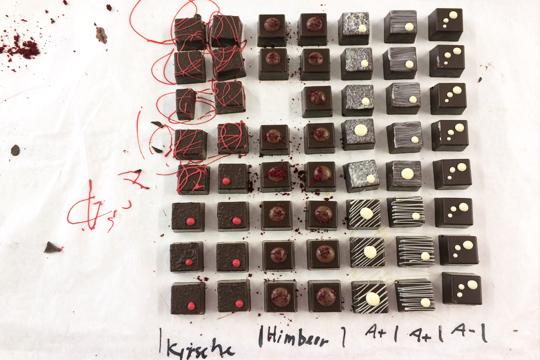 Pralinen von Martin Mayer Schokolade