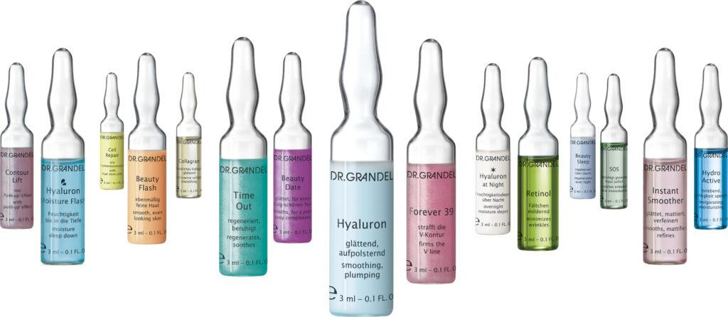Der perfekte Glow mit Beauty-Ampullen von Dr. Grandel