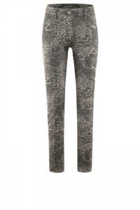 Jeans-Leggings mit Leoprint um € 239,–