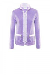 Sportlich-elegante Jacke in Schimmer-Optik um € 399,–