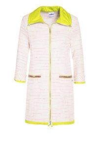 Sportlich-elegantes Longjacket aus Baumwolle um € 449,–