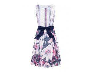 Feminines Sommerkleid mit Schleifen Detail um € 399,–