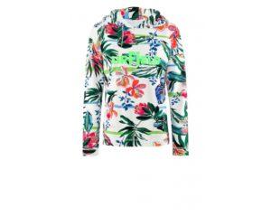 Hoodie mit floralem Print um € 199,90