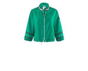 Kurz geschnittene, grüne Jacke um € 499,–