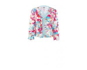 Kurz geschnittene Jacke mit Pailletten-Design um€ 399,–