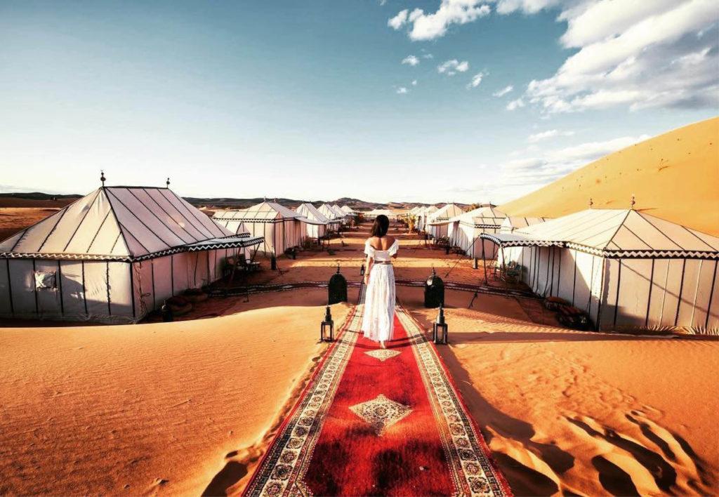 Glamoing im Desert Luxury Camp