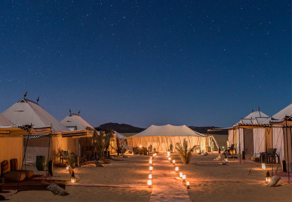 Glamping im Desert Luxury Camp