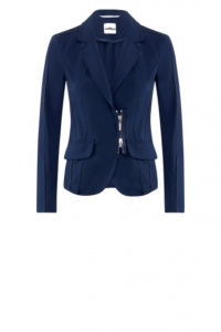 Blazer mit Zipperdetail in Navy um € 399,–