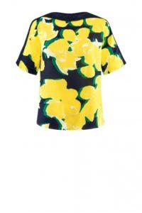 Die neue Herbst-Mode: Kurzärmelige Viskose-Bluse um € 199,90