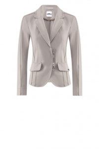 Nachhaltige Mode ist AIRFIELD ein großes Anliegen: Blazer mit Zipperdetail in Taupe um € 399,–