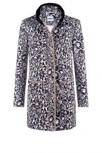 Nachhaltige Mode ist AIRFIELD ein großes Anliegen: Mantel mit Leopardenprint um € 549,–