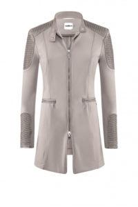 Nachhaltige Mode ist AIRFIELD ein großes Anliegen: Taupefarbener Jersey-Mantel um € 499,–