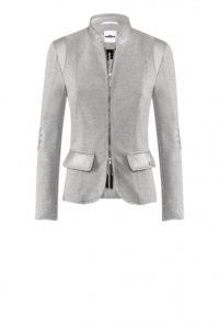 Jerseyjacke in Silber-Grau um € 369,–