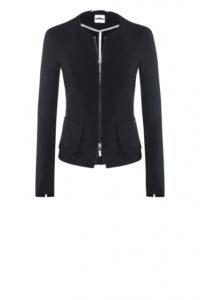 Kurze Jacke in Schwarz um € 269,–