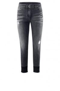 Party-Look: Schwarze Destroyed Jeans um € 269,–